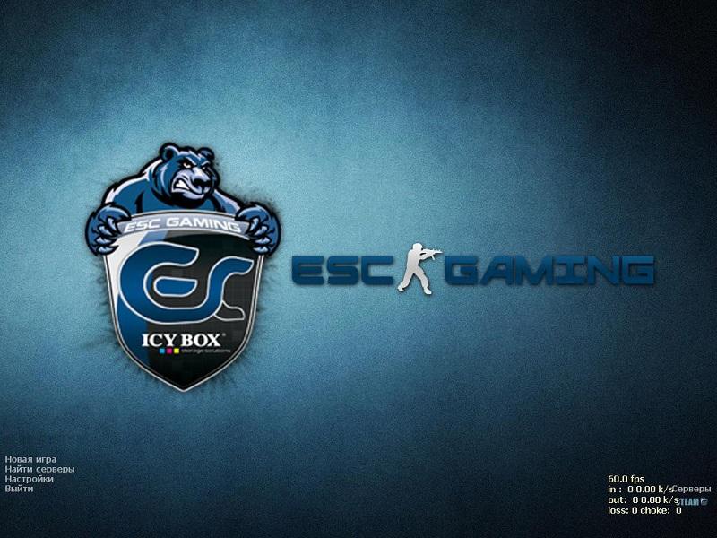 Скачать КС 1.6 ESC Gaming