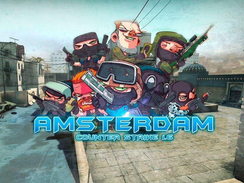 Скачать кс 1.6 Амстердам